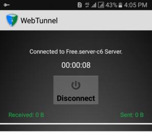 Jazz Internet WebTunnel