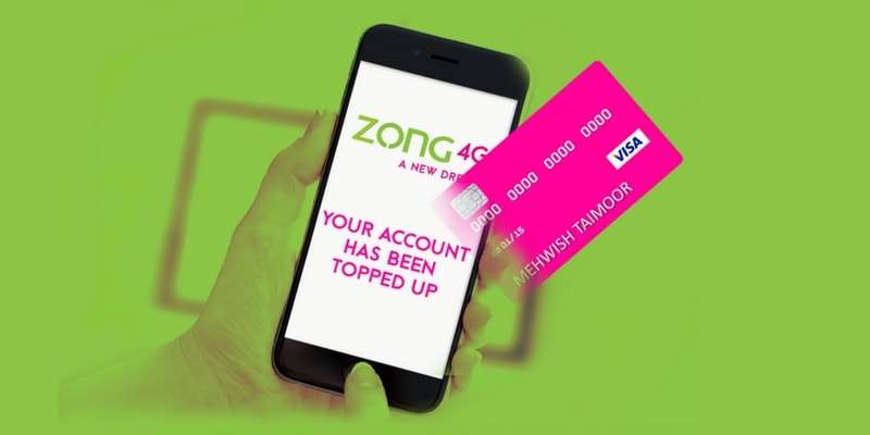 Zong Online Recharge Offer gives you the freedom to top-up your account anywhere anytime