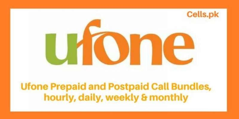 All Latest Ufone Call Packages 2019 with activation codes, validity and prices