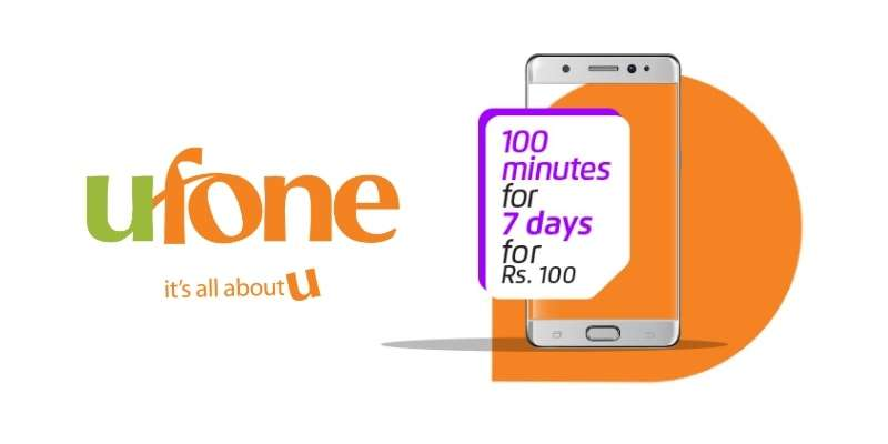 With Ufone Super Minutes Offer 2019 –  Enjoy 100 Minutes for All Networks in Rs 100 for 7 Days (Latest)