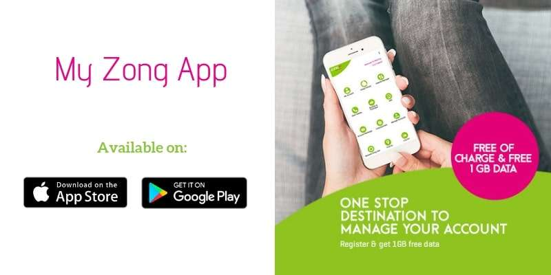 My Zong App Serves Millions of Prepaid / Postpaid Customers everyday   How to Register Account on My Zong App