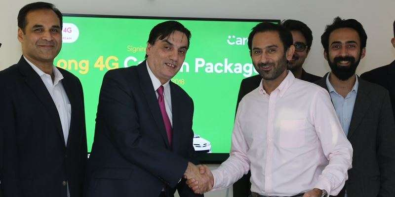 Zong 4G Partners with Careem to Offer Seamless Connectivity