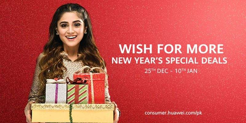 Check Out Huawei New Year Special Deals with Exciting Gifts for Customers