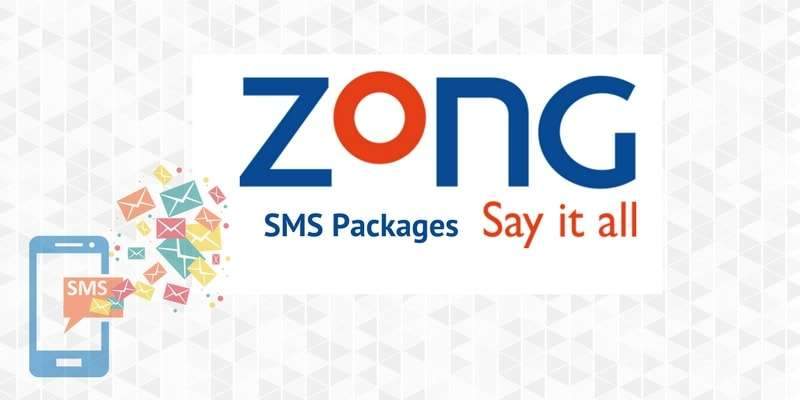 All Latest Zong SMS Packages 2019 with Activation and Unsub codes, Prices and Validity