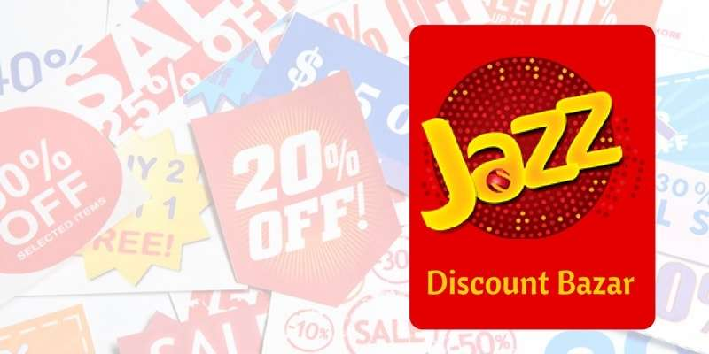Jazz Discount Bazar Offers amazing discounts to the residents of Lahore, Rawalpindi/Islamabad & Karachi