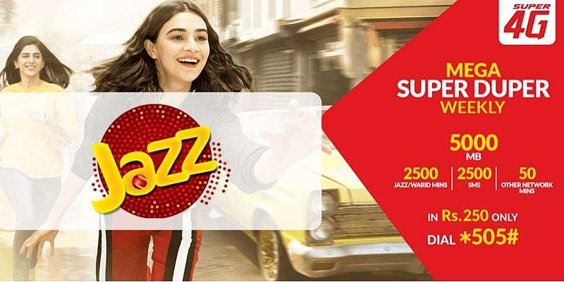 Jazz Mega Super Duper Weekly Offer (Complete Details)