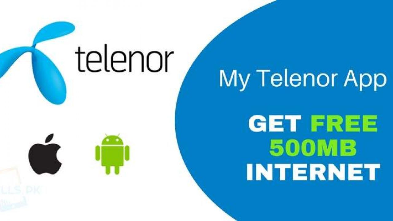My Telenor App Offers 500mb Mobile Internet For Free Cells Pk