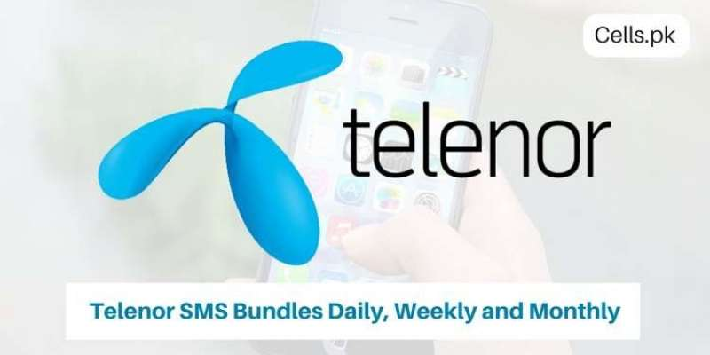All Latest Telenor SMS packages 2019 with activation codes, validity and prices for prepaid and postpaid users
