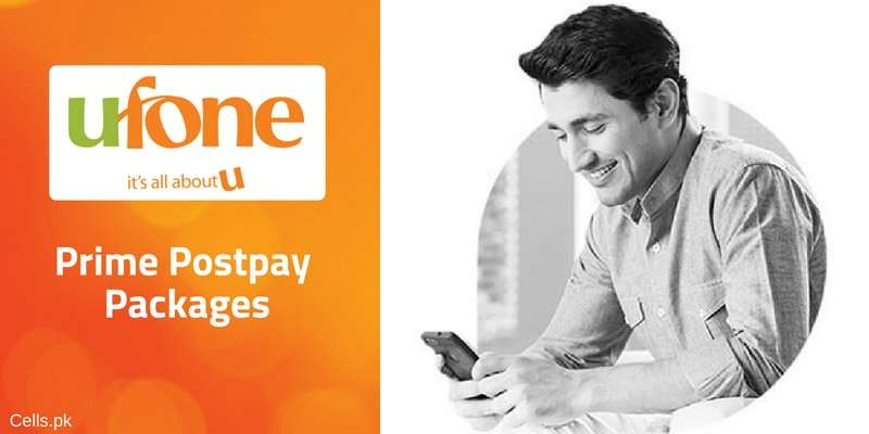Ufone Prime Postpay Packages 2019 | Enjoy Internet MBs/GBs, On-net / Off-net Minutes & SMS