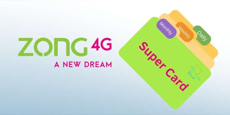 Zong Super Card provides 2000 Minutes, Free WhatsApp, SMS & more