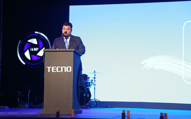 Ahmed Ali butt - Host for Tecno Camon i4 Laucnh