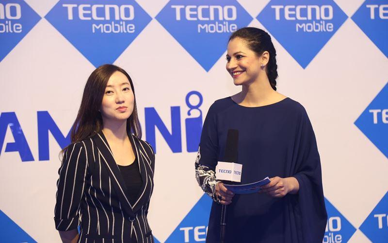 Eva PR Director Tecno with Cybil Ch.