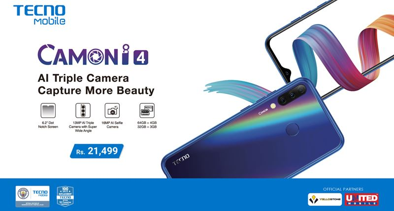 Tecno Camon i4 Launched