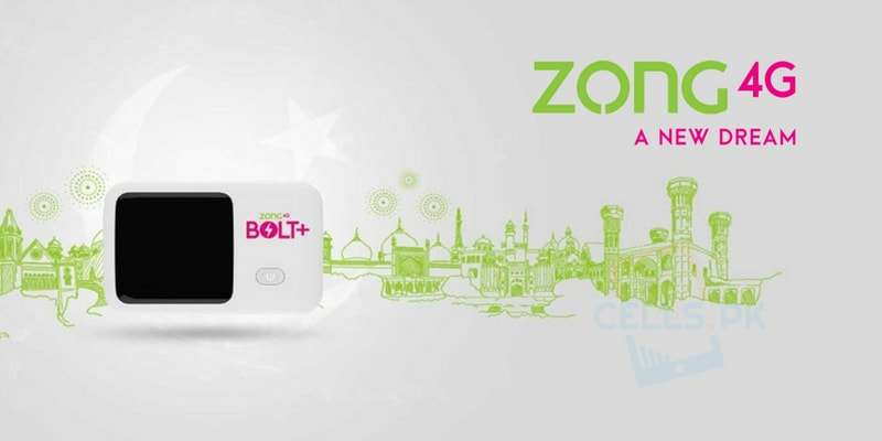 Zong Azadi Sale Offer | Get Exclusive Discounts on Zong 4G Bolt+ Device in Rs. 2,350 instead of Rs. 2,800