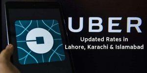Updated Uber Rates Pakistan