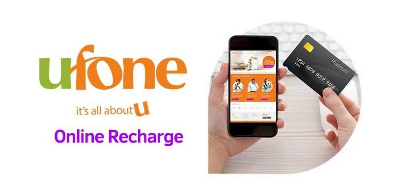 Now Ufone Customers can Recharge Online  through Debit Card or Credit Card (Complete Info)