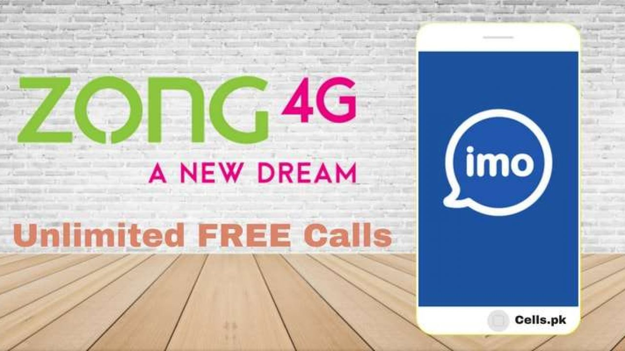 Zong IMO Monthly Package 2019 Activation Code for Unlimited