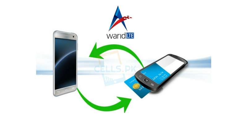 How to Share warid balance to warid & jazz via Code (Guide)