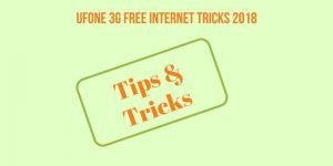 Ufone free Internet