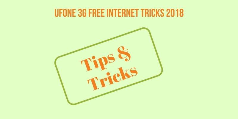 How to Use Ufone Free Internet on Android & iOS 2019 (5 Easy Methods)