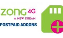 Zong 3G/4G Internet Packages 2019 Daily, Weekly, Monthly – Cells pk