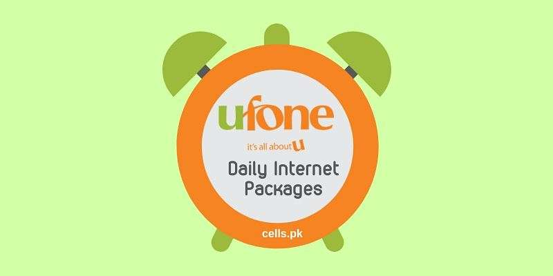 List of All Latest Ufone Daily Internet Packages with Activation Codes and Prices