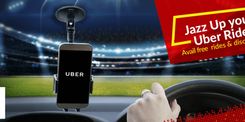 Book FREE rides with Jazz Super 4G (Jazz/Uber), Enjoy 50% discount on 3 rides (Be Unstoppable)