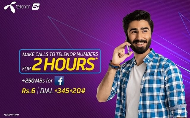 How to Make Unlimited Calls for 2 hours with Telenor Good Time Offer