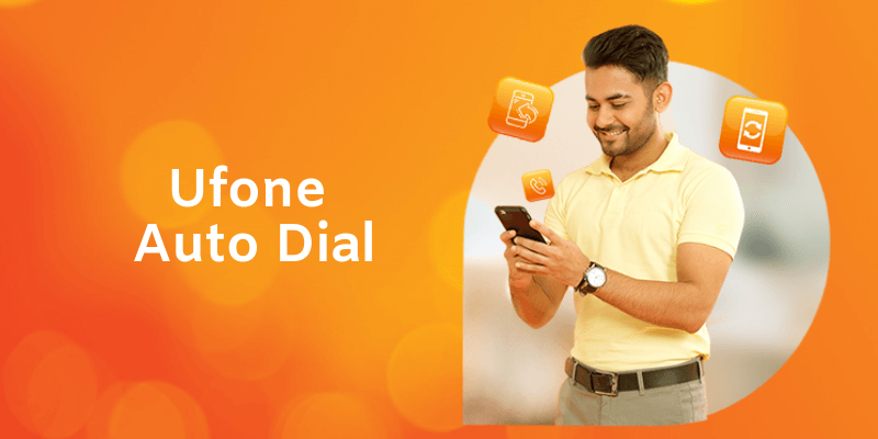 Ufone Auto Dial Service lets you make Calls conveniently