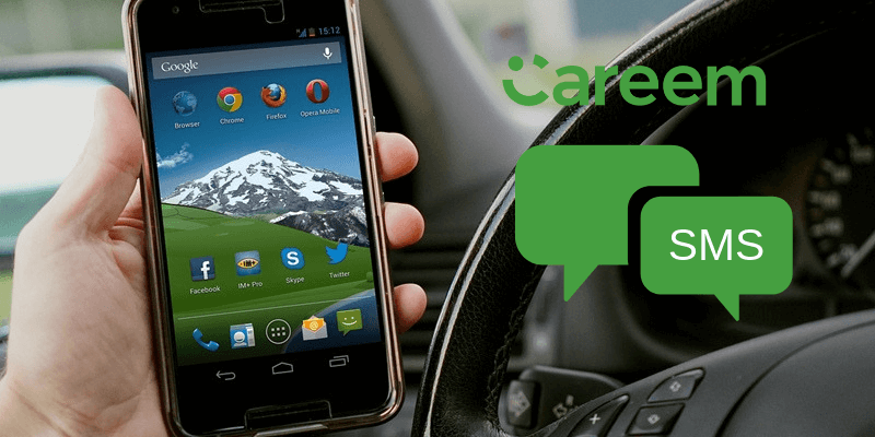 Now Book Careem Rides with Call/SMS, No Internet required