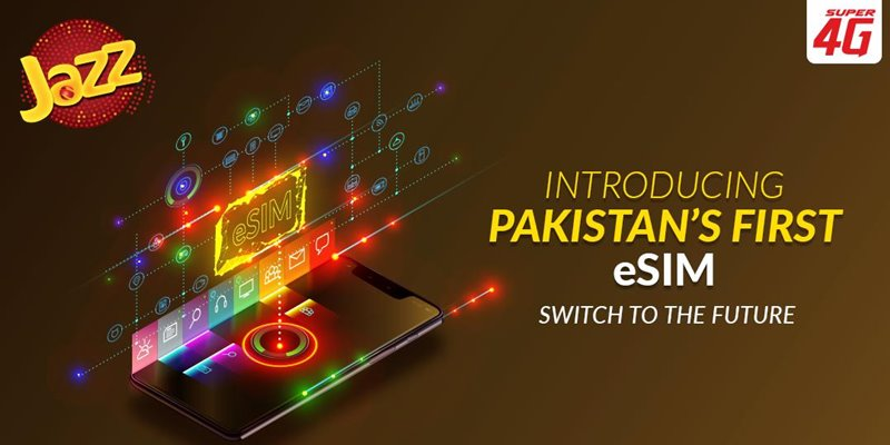 Jazz launches eSIM Technology with Gemalto Management Platform
