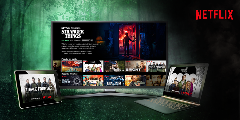 PTCL Users can now pay Netflix Subscription via Monthly Broadband Bills