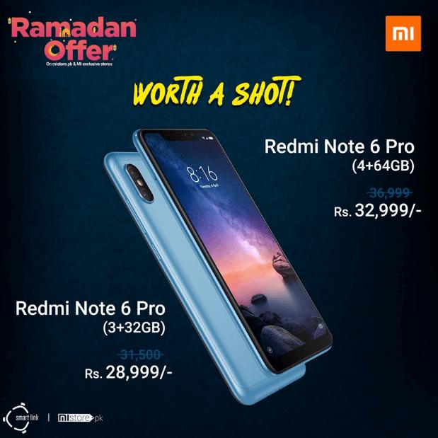 redmi note 6 pro offer
