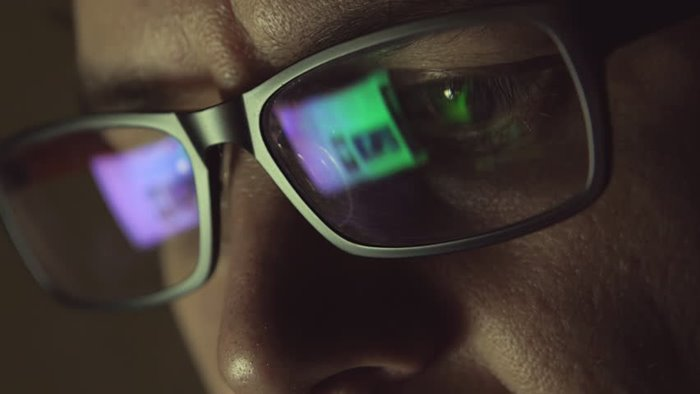 Eye Strain Glasses