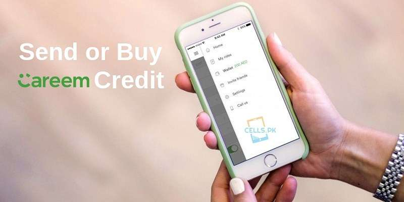 How to Send or Buy Careem credit