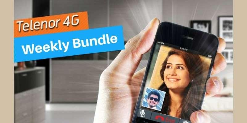 Telenor launches Telenor 4G Weekly Bundle & Telenor 4G Weekly Unlimited Internet Bundle
