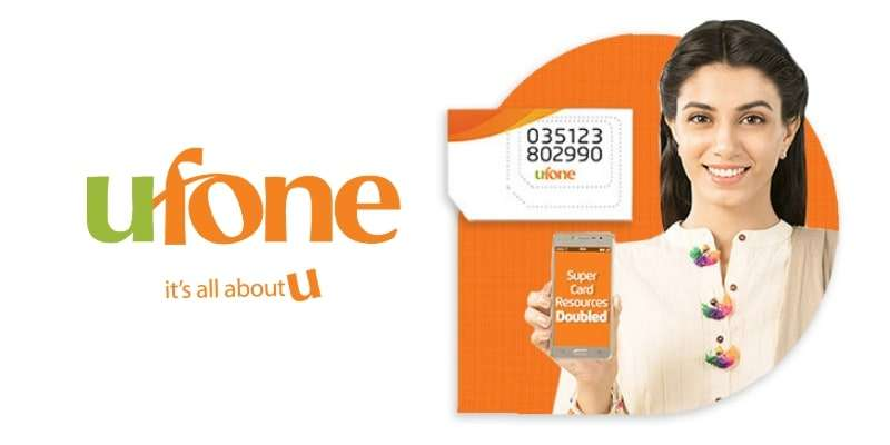 Ufone Nayi SIM Double Offer 2018 | Recharge Super Card Rs. 520 / Rs. 599 to get Double Resources for same price