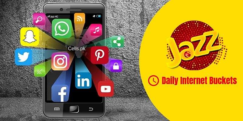 All latest Jazz daily internet packages with activation codes, prices & unsub method