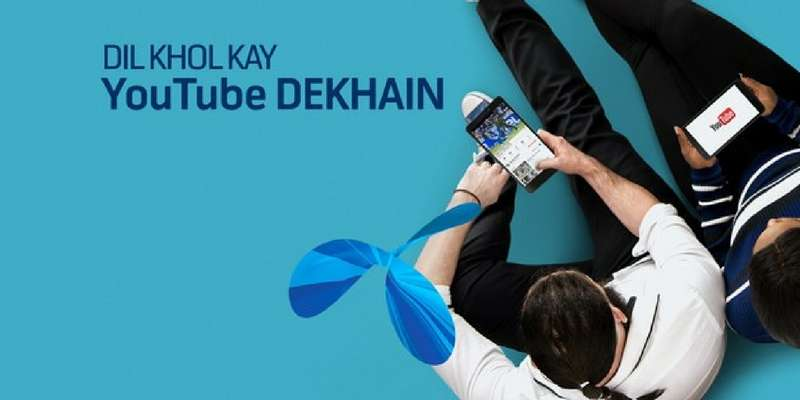 Watch Youtube / Daily Motion & Pocket TV Videos in just Rs. 8 with Telenor Video Bundle