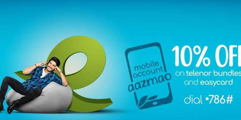 Enjoy 10% Discount on Telenor Packages with Easypaisa!