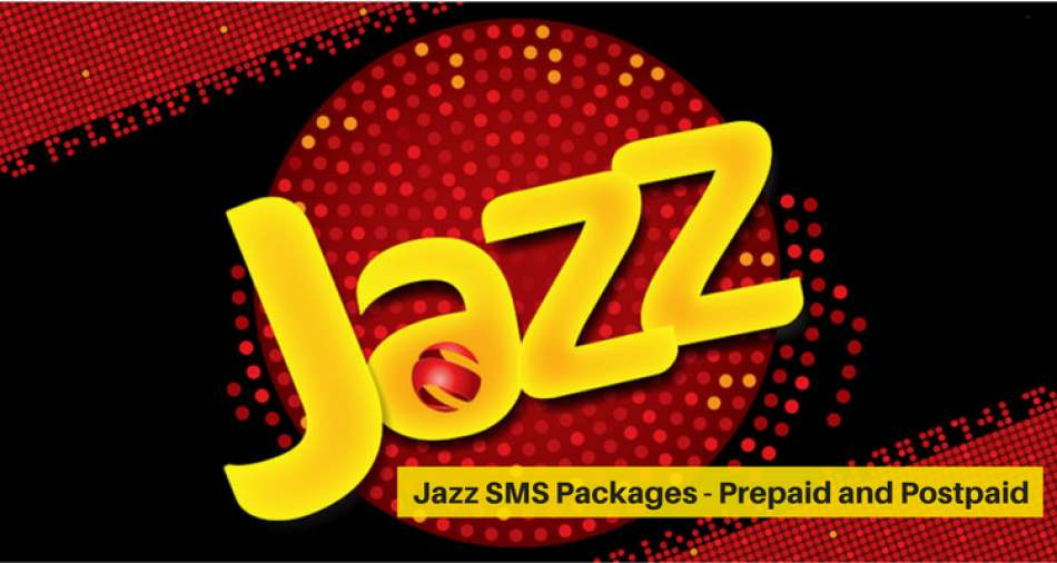 Mobilink JAZZ SMS Packages (Daily, Weekly, Monthly, Jazz FREE SMS Package) Prepaid / Postpaid
