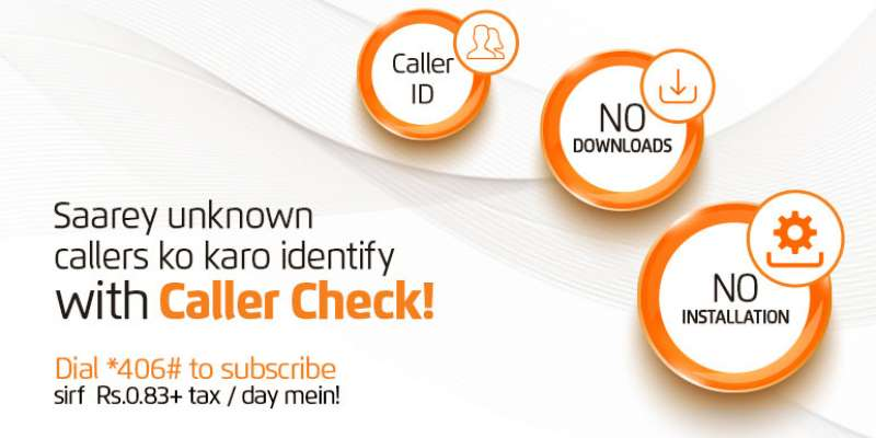 Ufone Caller Check Service (Identify all unknown callers now)