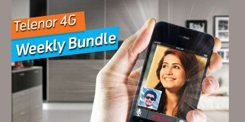 Telenor 4G Weekly Unlimited Internet Package