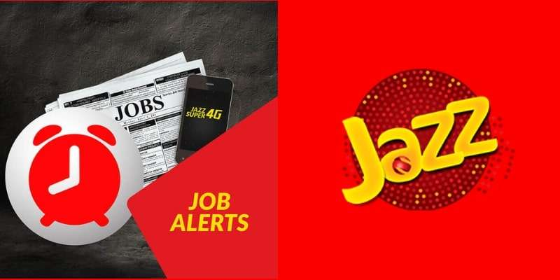 With Jazz Job Alerts Offer Stay Updated with Local & International Jobs in just Rs. 1.19 Per Day
