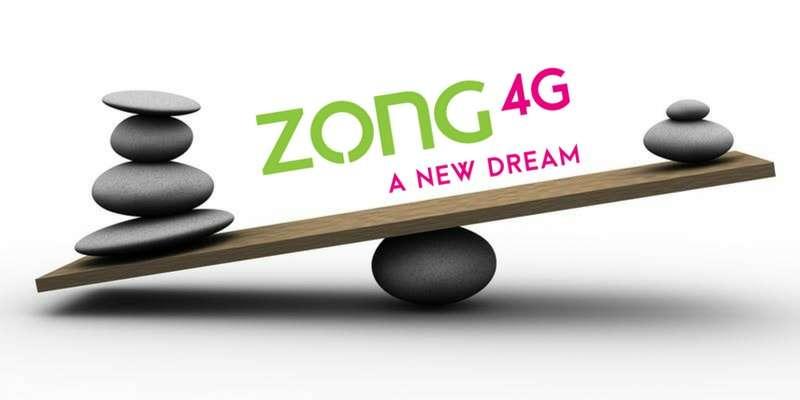 Zong Balance Share Code 2018 and Zong Yaari Load