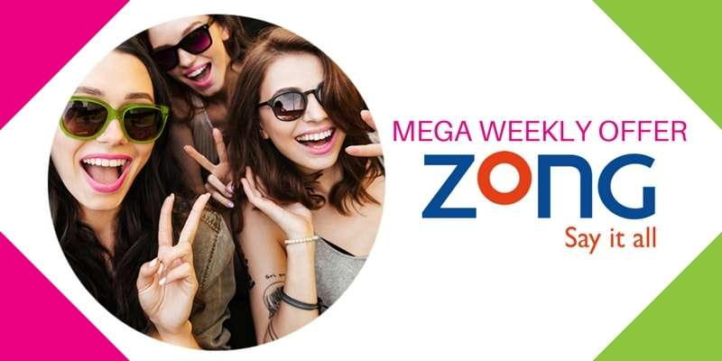 Zong launches Mega Weekly Offer in just Rs. 160 (Complete Details)