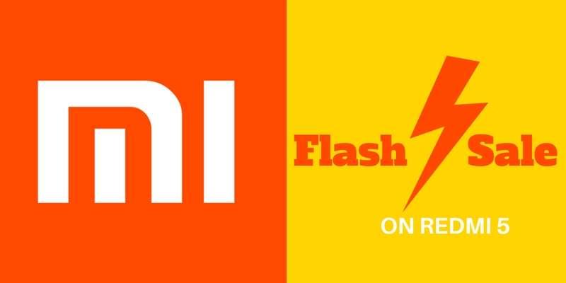 Mi Store reveals Second Redmi 5 (2GB) Flash Sale