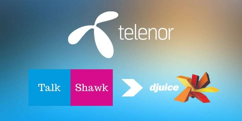How to Convert from Telenor Talkshawk to Djuice 2018