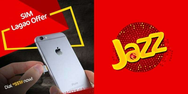 Mobilink Jazz SIM Lagao Offer (2018) Enjoy 3000 Minutes, 3000 SMS, 1.5GB Internet in just Rs. 0.06