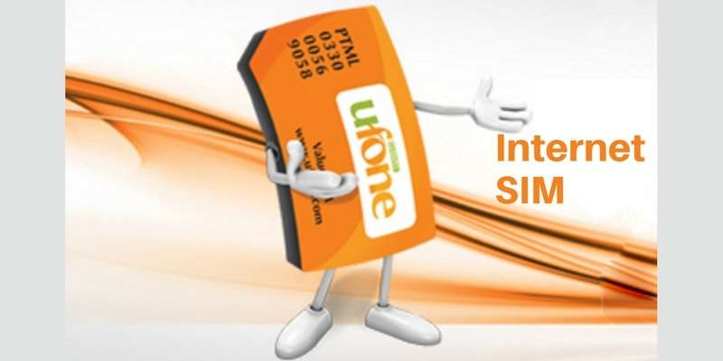 Enjoy 1000 MB FREE Internet on Purchase of Ufone Internet SIM (Ufone Internet SIM Packages)